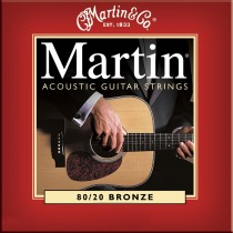 Martin Bronze Acoustic Guitar strings