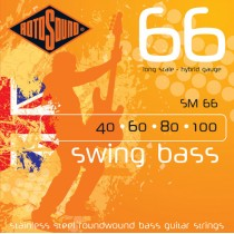 Rotosound SM66 Bass Guitar strings